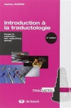 Introduction a la traductologie 2nd edition