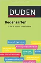 کتاب زبان Duden Redensarten: Herkunft und Bedeutung