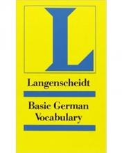 کتاب آلمانی Langenscheidts Grundwortschatz Deutsch: Basic German Vocabulary