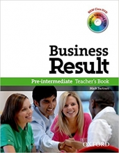 کتاب زبان Business Result Pre-Intermediate: Teacher's Book
