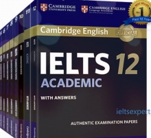 آیلتس کمبریج 12 جلدی (1-12 آکادمیک) + CD