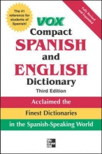 Vox Compact Spanish and English Dictionary 3rd