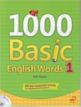 کتاب زبان 1000Basic English Words 1 + CD