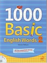 کتاب زبان 1000Basic English Words 2 + CD