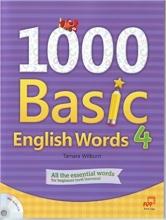 کتاب زبان 1000Basic English Words 4 + CD