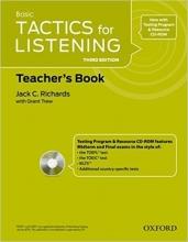 کتاب معلم Tactics for Listening Basic: Teacher's Book Third Edition
