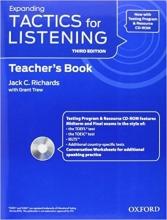 کتاب معلم Tactics for Listening Expanding: Teacher's Book Third Edition