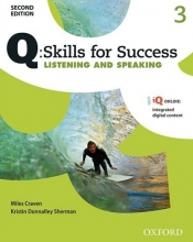 کتاب زبان Q Skills for Success 3 Listening and Speaking 2nd+CD