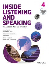 کتاب زبان Inside Listening and Speaking 4+CD