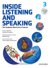 کتاب زبان Inside Listening and Speaking 3+CD
