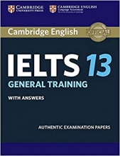 کتاب کمبریج آیلتس IELTS Cambridge 13 General + CD