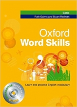 کتاب آکسفورد ورد اسکیلز Oxford Word Skills Basic With CD