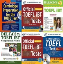 کتاب زبان پک 6 جلدی پرفروش برای آزمون تافل