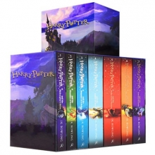 مجموعه كامل هری پاتر ادیشن بريتيش Harry Potter Collection Special Edition Packed