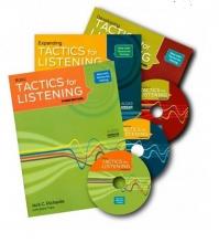 مجموعه 3 جلدی تکتیس فور لسینینگ Tactics for Listening
