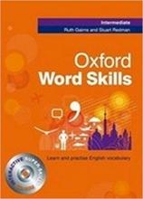 کتاب آکسفورد ورد اسکیلز اینترمدیت Oxford Word Skills Intermediate With CD