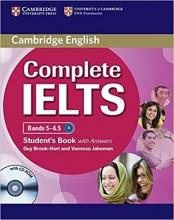 کتاب کمبریج انگلیش کامپلیت آیلتس (Cambridge English Complete Ielts b2 (5-6.5