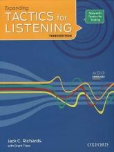 کتاب اکسپندینگ تکتیس فور لیسنیگ Expanding Tactics for Listening Third Edition + CD