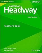 کتاب زبان American Headway Starter (3rd) Teachers book
