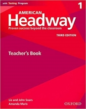 کتاب زبان American Headway 1 (3rd) Teachers book