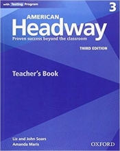 کتاب زبان American Headway 3 (3rd) Teachers book