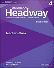 کتاب زبان American Headway 4 (3rd) Teachers book