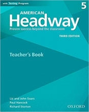 کتاب زبان American Headway 5 (3rd) Teachers book