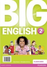 فلش کارت Big English 2 Flashcards