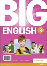 فلش کارت Big English 3 Flashcards