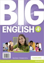 فلش کارت Big English 4 Flashcards