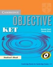 کتاب زبان Objective KET Student's Book + CD