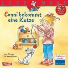 کتاب آلمانی meine freundin conni bekommt eine katze