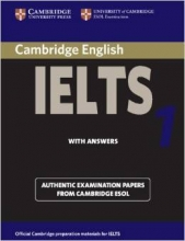 کتاب کمبریج آیلتس IELTS Cambridge 1 with CD