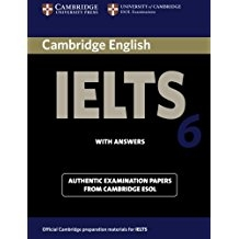 کتاب آیلتس کمبریج IELTS Cambridge 6 with CD