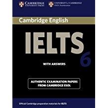 کتاب آیلتس کمبریج IELTS Cambridge 6 with CD