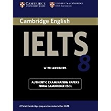 کتاب آیلتس کمبریج IELTS Cambridge 8 with CD