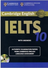 کتاب آیلتس کمبریج IELTS Cambridge 10 with CD