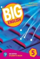 کتاب زبان Big English 5 (2nd) SB+WB+CD
