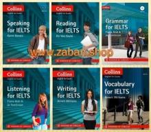 مجموعه 6 جلدی کالینز انگلیش فور اگزم آیلتس ویرایش قدیم Collins English for Exam Ielts