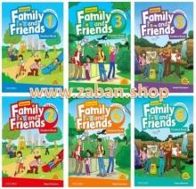 مجموعه 6 جلدی(ویرایش دوم) American Family and Friends