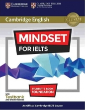 کتاب آموزشی مایندست Cambridge English Mindset For IELTS Foundation Student Book+CD