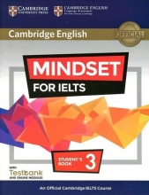 کتاب آموزشی مایندست Cambridge English Mindset For IELTS 3 Student Book+CD