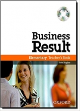 Business Result Elementary: Teacher's Book + CD