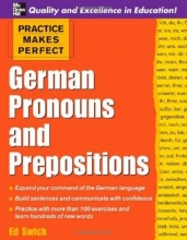 کتاب زبان Practice Makes Perfect: German Pronouns and Prepositions