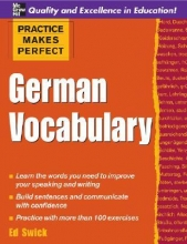 Practice Makes Perfect: German Vocabulary