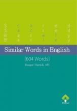 کتاب زبان لغات مشابه در انگلیسی (604 لغت)