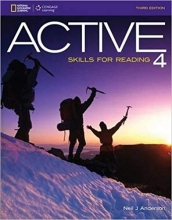 کتاب زبان ACTIVE Skills for Reading 4 , 3rd