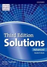 کتاب آموزشی سولوشنز Solutions Advanced  3rd Edition