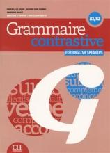 کتاب زبان Grammaire contrastive pour anglophones - A1/A2 + CD