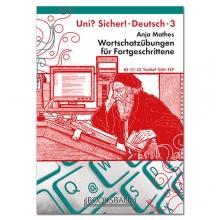 کتاب زبان (Wortschatzübungen für Fortgeschrittene UNI? SICHER! 3 (B2-C1-C2